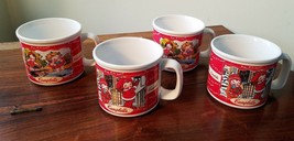 Houston Harvest Campbell's M'm! M'm! Good! Soup Mugs 2000 Set of 4  - $12.82