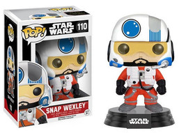 Star Wars The Force Awakens Snap Wexley Vinyl Pop Figure Toy #110 Funko New Nib - $7.84