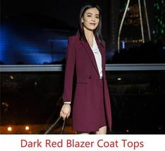 Women's Fashion Career Apparel High Quality 3 Piece Formal Business Pant Suits image 11
