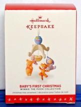 2016 Hallmark Baby's First Christmas Winnie the Pooh Collection Disney O... - $16.90