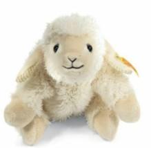 Steiff Little Floppy Linda Lamb EAN 281129 Plush Stuffed Animal Toy Gift... - $27.65