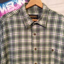 Woolrich Men's Plaid Cotton Button Front Short Sleeve Shirt Size XL - $19.79