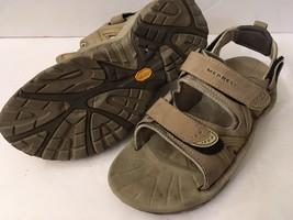 Women's Merrell Reactor Convertible Taupe Sport Sandals Vibram Soles Size 7 - $25.74