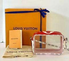 Louis Vuitton Beach Pouch PVC Bag Spring/Summer 2019  Pink/Red SOLDOUT - $1,480.05