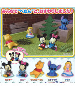 Disney Character Petanto! Chokkori-zu Resting Mini Figures - Complete Se... - $31.90