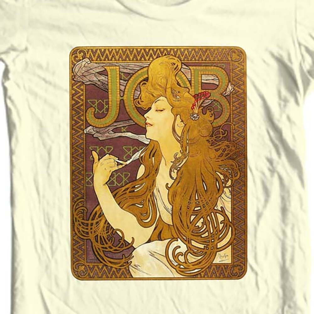 JOB T-shirt retro pot rolling papers vintage 1970's marijuana cotton graphic tee