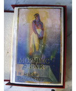 Sir Henry Rider Haggard MORNING STAR 1st inscr to best friend - Superiou... - $2,500.00