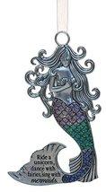 Gnz 3.5 Inch Zinc Mermazing Mermaid Ornament- Ride A Unicorn - $6.86