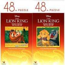 The Lion King - 48 Pieces Jigsaw Puzzle - v1 (Set of 2) - $14.99