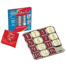 Think Fun Fifteen Puzzle - Classic Puzzle Game, Perfect for Travel, Can ... - $14.17