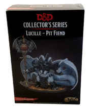 D&D Collector's Series Lucille Pit Fiend Miniature Dragons Baldur's Gate... - $49.49