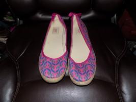 UGG AUSTRALIA Indah Purple And Fuchsia Multi Textile Flats US Size 11 NWOB - $54.78