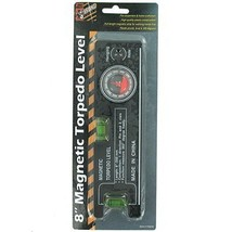 8 Inch Magnetic Torpedo Level with Angle Finder 360 Degree - $13.97