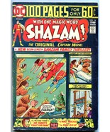 SHAZAM #14 1973-DC-CAPT MARVEL-One Hundred Pages-Mr Tawny-vg/fn - $25.22
