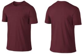 NIKE Men's Dri-FIT Cotton 2.0 Tee Red/Black Size M - $24.74