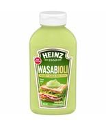3x Bottle Heinz Wasabioli Sauce 362ml Each -ALWAYS FRESH From Canada -Fa... - $28.46