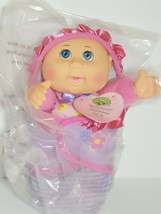 Cabbage Patch Kids Official Newborn Baby Doll Girl Swaddle Blanket Unique Names  - $22.99