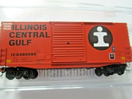 Micro-Trains # 10100150 Illinois Central Gulf 40' Hy-Cube Box Car N-Scale image 1