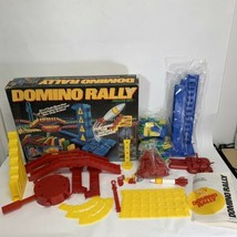 Domino Rally Deluxe Set 1989 Pressman Read Description - $25.95