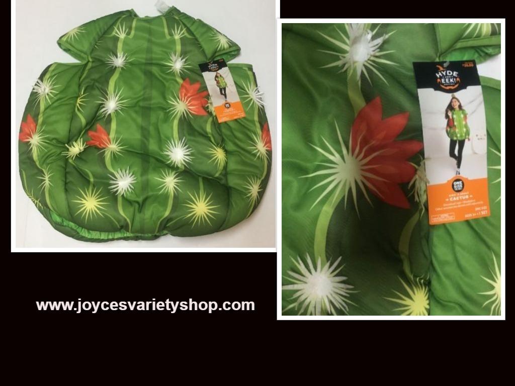 Cactus costume web collage