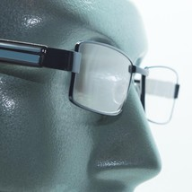 Reading Glasses Super Hi Tech Metro Metal Frame Jazz Aqua Black Detail +... - $23.00