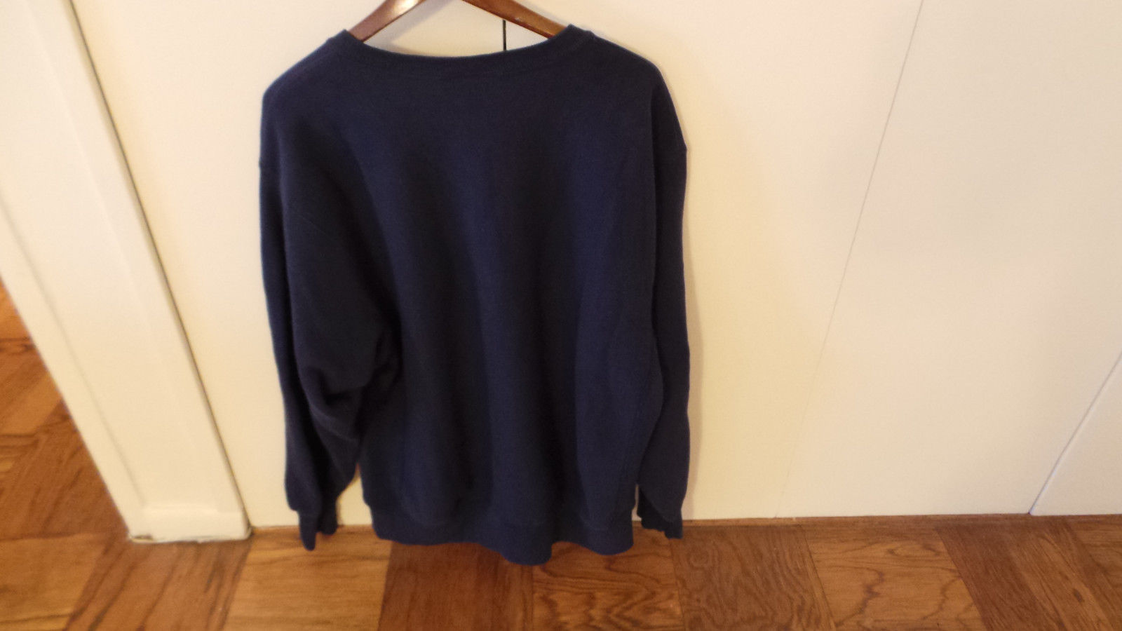 Putnam Sweatshirt in Navy Color w Bold Letters Size XL Made in USA by Lee VG+ image 4