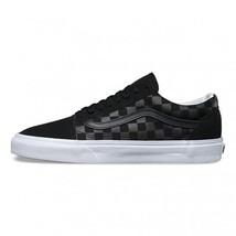 VANS Black Tonal Checkerboard Suede Canvas Unisex Shoes Mens 8 / Wms 6.5... - $72.99