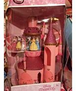 Disney Princess Deluxe Castle Playset 6 Princesses Belle Ariel Jasmine - $199.99