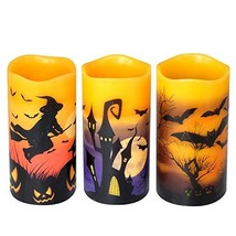 DRomance Flameless Flickering Candles Battery Operated with 6 Hour Timer... - $25.89