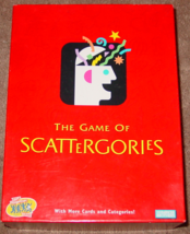 Scattergories Game 2003 Parker Brothers #04917 Complete With Some Sealed Parts - $15.00