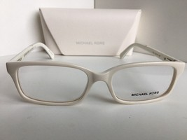 New MICHAEL KORS MK 8006 3012 52mm White Women's Eyeglasses - $149.99