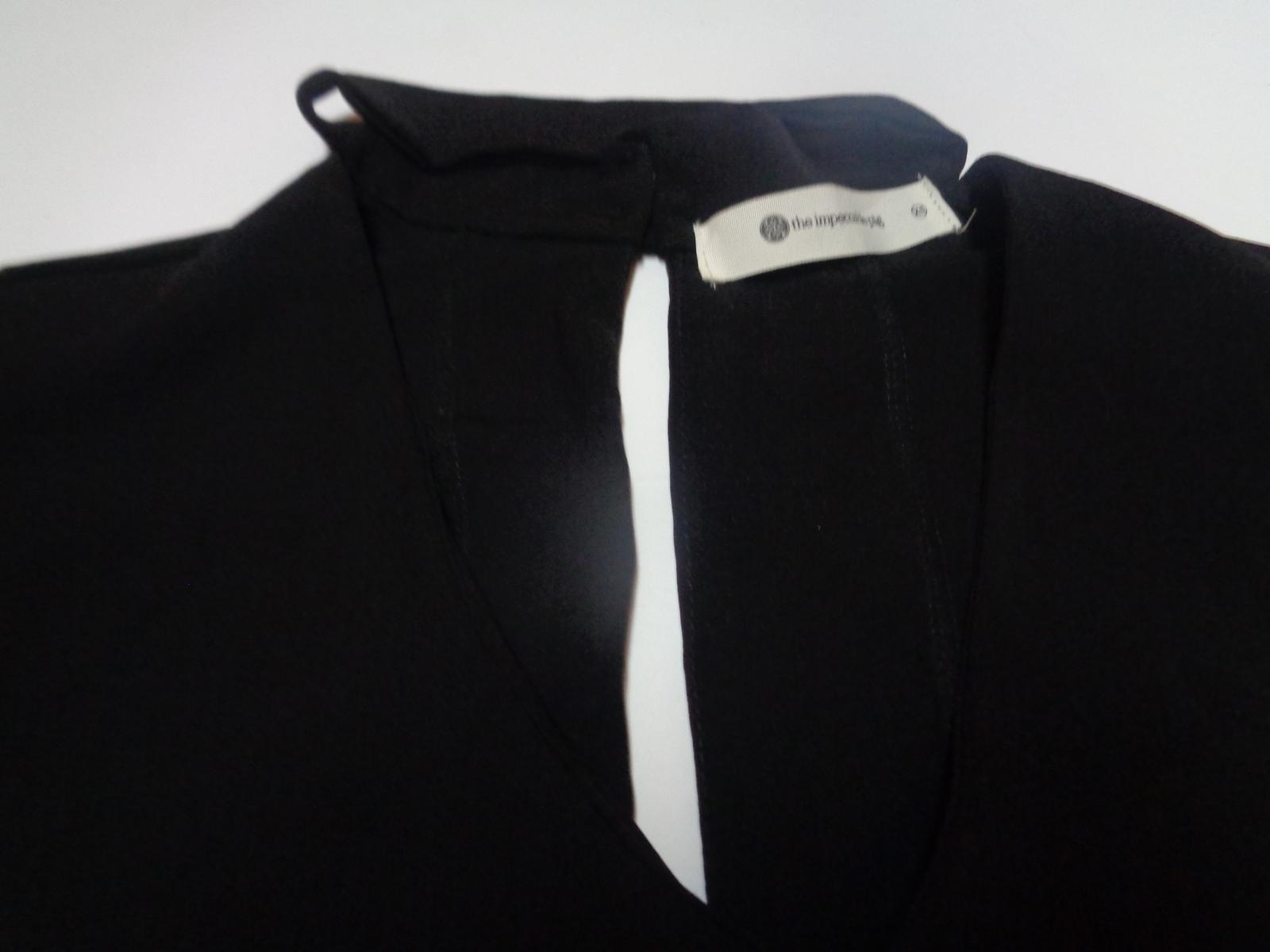 Black Choker Dress NWT SZ XS The Impeccable Pig
