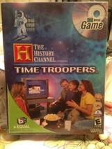 2005 The History Channel Presents Time Troopers TV DVD Game Sealed + Bon... - $12.99