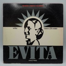 Evita Vinyl Record LP Double Record Broadway Andrew Lloyd Webber 2 RECO... - $24.74