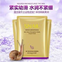 BIOAQUA Original Korean Cosmetics Snail Moisturizing Mask, Invisible Cos... - $7.39