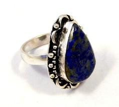 Lapis .925 Silver Charming Jewelry Ring Size 8.75 JC4352-JC4380 - $12.00
