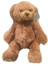 "Aurora Beary Friends BASHFUL Brown Plush Teddy Bear 10"" Rotating Head - $12.99"