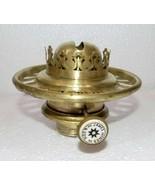 Superb Victorian Hinks Kerosene oil  lamp Burner Brass cleaned#Bur-1 - $114.75