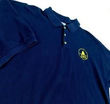 B&O Railroad Navy Blue Golf Polo Shirt Sz XL Baltimore Ohio - $49.99