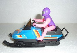 Vintage Snow Mobil Friction Toy - $12.59
