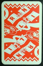 1 x Playing Card Single Swap Royal National Lifeboat Institute RNLI ZS042 - $1.58