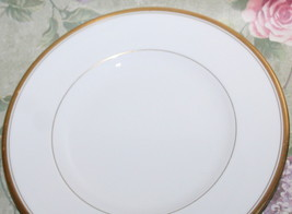 Royal Worcester England Viceroy 6 1/8 Bread Plate with Gold Gilt Bands o... - $29.65