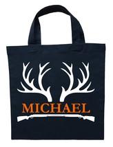 Hunter Trick or Treat Bag - Personalized Deer Hunting Halloween Bag - $11.99 - $13.99