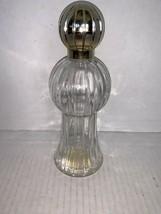 Vintage Avon Decorator Imperial Garden Foaming Bath Oil Glass Bottle Empty - $5.00
