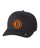BITCOIN CURRENCY P2P FLEXFIT DELTA  HAT  *FREE SHIPPING in BOX* - $19.99