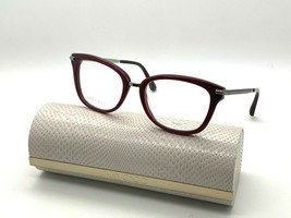 Jimmy Choo Eyeglasses JC218 Lhf Burgundy 52-18-140MM Italy Case& Cloth - $77.15