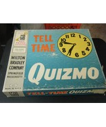 Vintage Milton Bradley Tell-Time QUIZMO Educational for Grades 1 to 4 - $21.77