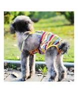 Rainbow Design Dog Suspender Physiological Pants 12# - £7.76 GBP