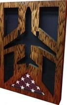 Air Force Mcdonnell Douglas KC-10 Extender Award Shadow Box Medal Display Case - $360.99
