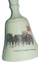 Budweiser Champion Clydesdale Glass Bell.  Busch Gardens.   - $9.75